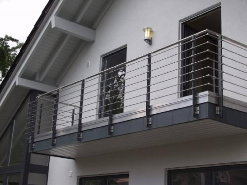 Балконы частного дома своими руками